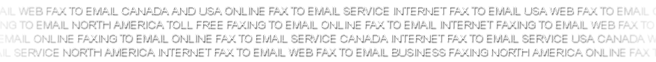 Price plans for internet fax to email Canada and USA